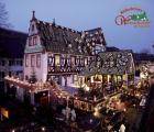 Marché de Noël Rüdesheim: 3 jours Rheinhôtel Lamm ***