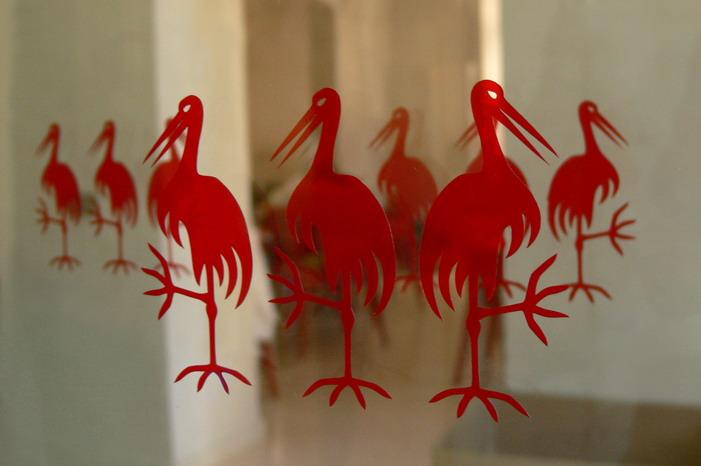 At The Three Storks
