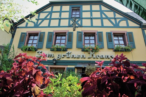 Historisches Weinhotel des Riesling zum grünen Kranz